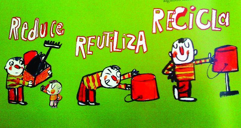 4 no carboeiro charla sobre medioambiente for Dibujos de las 3 r