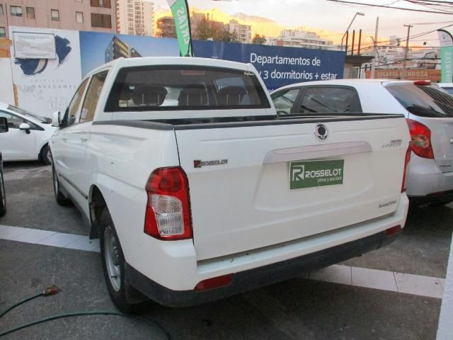 ssangyong new actyon sport 4x2 2.0 mt aa - euro v - nas610aa