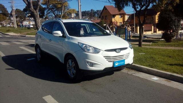 Hyundai tucson 4wd crdi aut