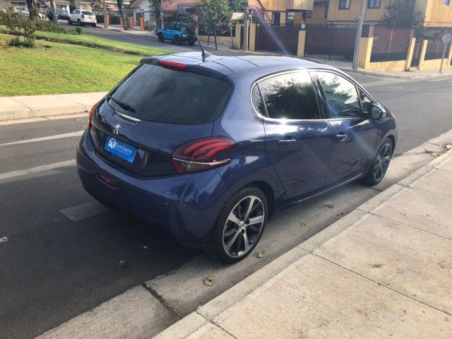Autos Automotora RPM Peugeot 208 allure bluehdi 1.6 100 hp 2018