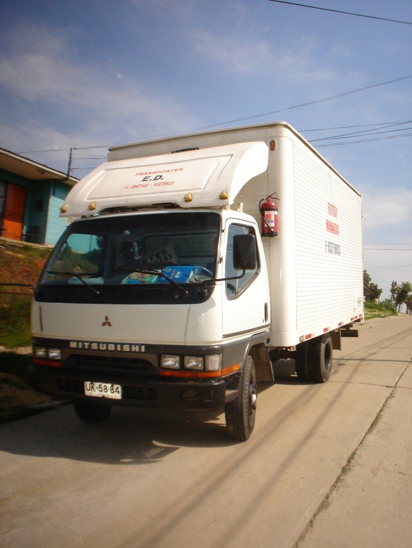 Camiones Automotora Rodríguez Mitsubishi Canter 2001